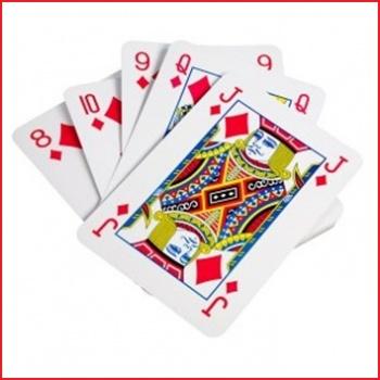 foto reuze speelkaarten