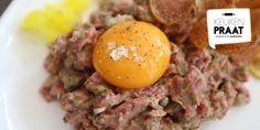 Ron Blaauw: simpel en snel recept voor steak tartaar | ELLE Eten