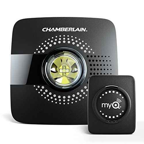Chamberlain Smart Garage Hub MYQ-G0301 - Upgrade your Existing Garage Door Opener with MyQ Smart Phone Control - Open and close your garage door from anywhere with your smartphone. Receive alerts when the garage door opens and closes. With Chamberlain myq garage, your smartphone, Wi-Fi and any compatible garage door opener, you are connected and in control.