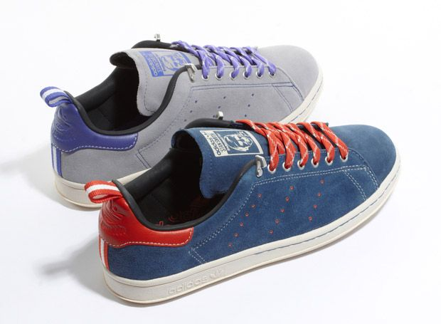 Very nice blue Adidas Originals Suede Stan Smith
