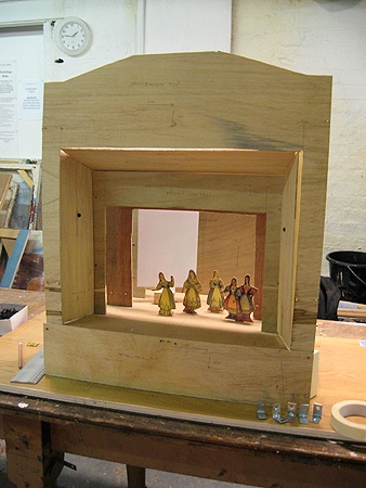 how to build a puppet stage