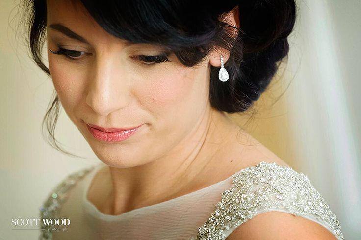 Classic bridal look. Natural and beautiful.