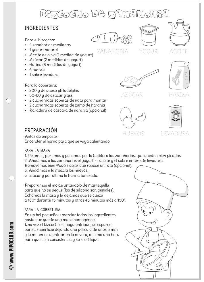 Recetas De Cocina Para Imprimir | Mejores 298 Imagenes De Recursos En Pinterest Artesanias De