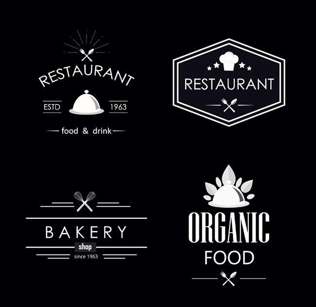 Retro Restaurant Label