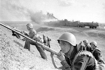 Soviet Navy riflemen, WWII, pin by Paolo Marzioli
