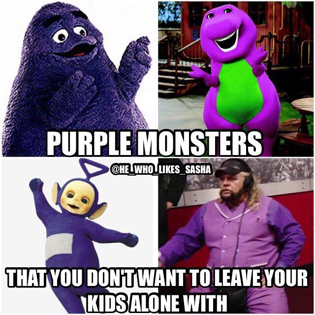 These are some creepy purple motherfuckers 😂😂. Especially Michael Hayes WTF was he wearing on SD😂. #wwe #wwememe #wwememes #wrestlemania #michaelhayes #wrestlemania33 #johncena #ajstyles #deanambrose #sethrollins #romanreigns #wwefunny #tripleh #samoajoe #kevinowens #chrisjericho #wrestler #wrestling #prowrestling #professionalwrestling #worldwrestlingentertainment #wweuniverse #wwenetwork #goldberg #brocklesnar #wwesuperstars #raw #wweraw #smackdown #smackdownlive