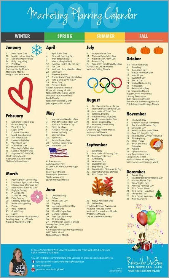 The 12 Simple Rules For Successful Content Marketing Marketing Planning Calendar Planning Calendar Marketing Strategy Social Media