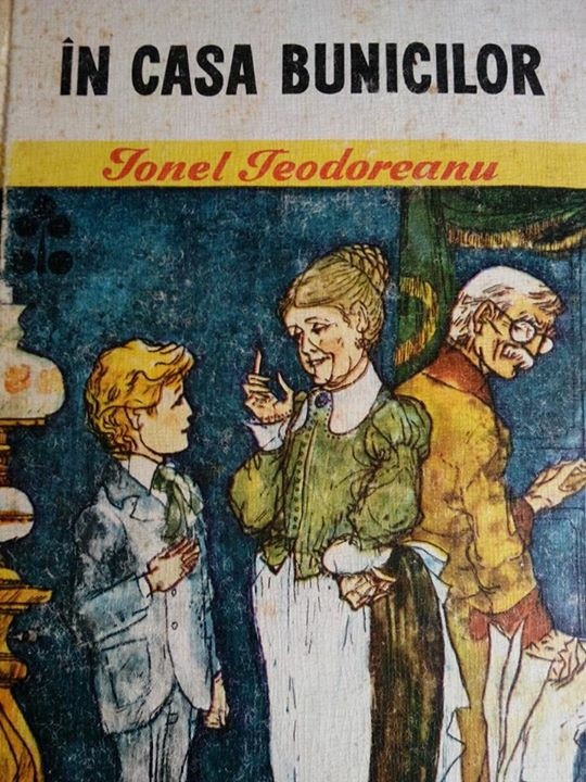 Childhood's book a long long time ago