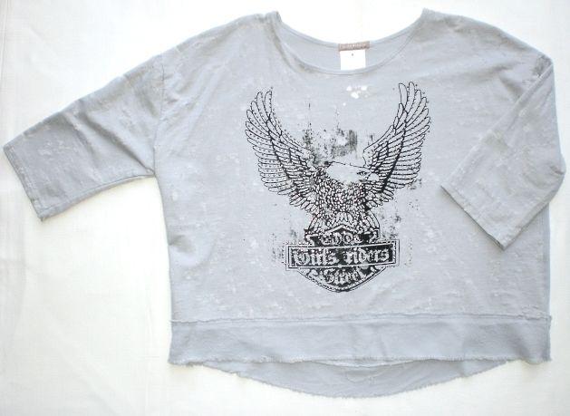 T-shirt rock ragazza taglia grande