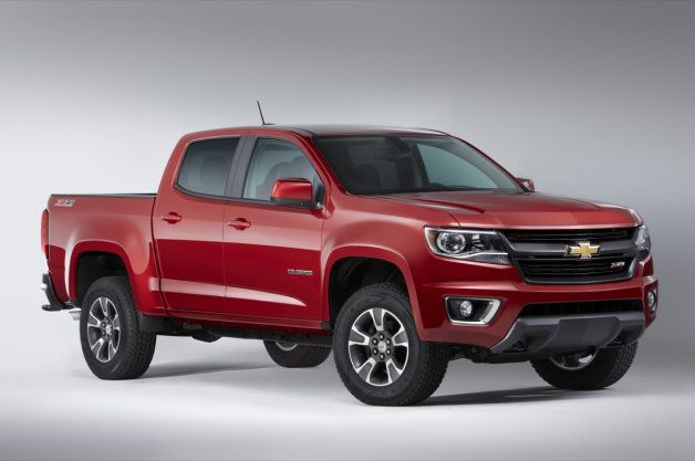 The upcoming 2015 Chevy Colorado and GMC Canyon are rated as the most fuel efficient four-cylinder midsize pickups in the their class.