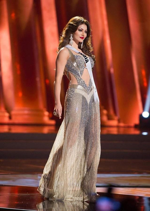Urvashi Rautela Contestant from India for Miss Universe 2015
