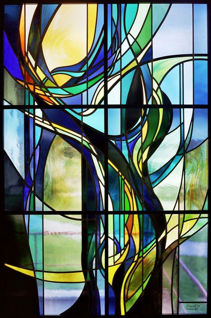 Открытка добрым, картинки с абстракцией на стекле
