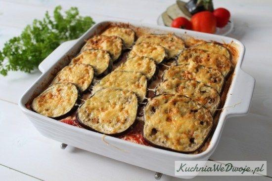 049 Zapiekanka makaronowa zricottą ibakłażanem[KuchniaWeDwoje.pl] 2