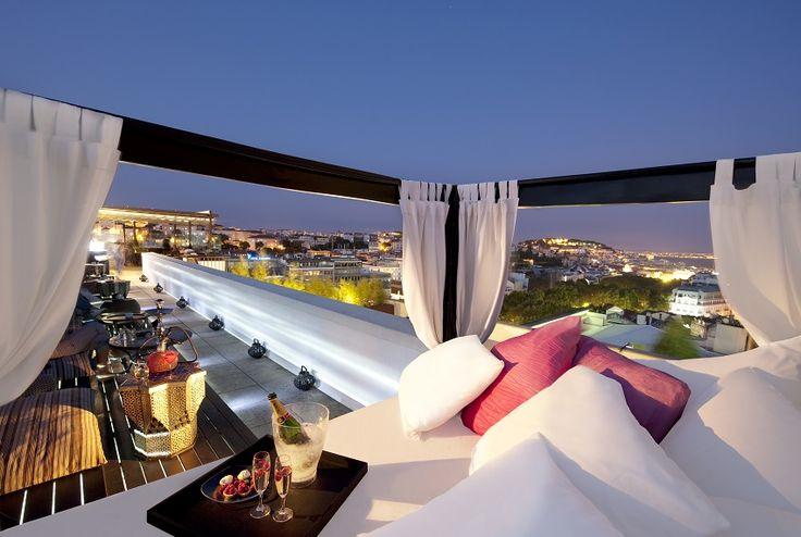 Die schönsten Rooftop-Bars in Lissabon