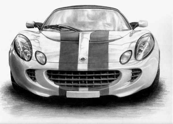 Lotus Car Coloring Pages : Simple pencil drawings of cars google search joey likes