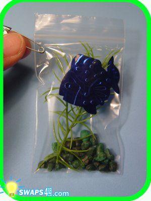 Aquarium-in-a-Bag  -  Scout SWAPS Girl Craft Kit - Swaps4Less