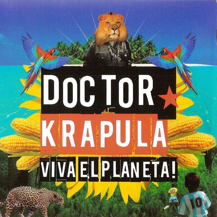 Carátula Interior Trasera de Doctor Krapula - Viva El Planeta!