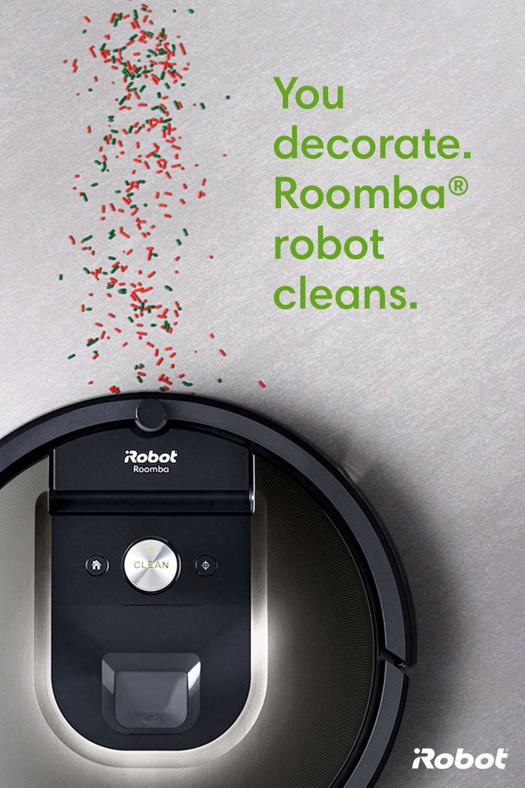 You decorate, Roomba® robot cleans. Together, we'll make the holidays that much brighter. With the ability to clean any floor type and sweep hard to reach places, you won't remember what life was like before. For a limited time only save $100 on Roomba® 900 series vacuuming robots. Celebrate more with iRobot.