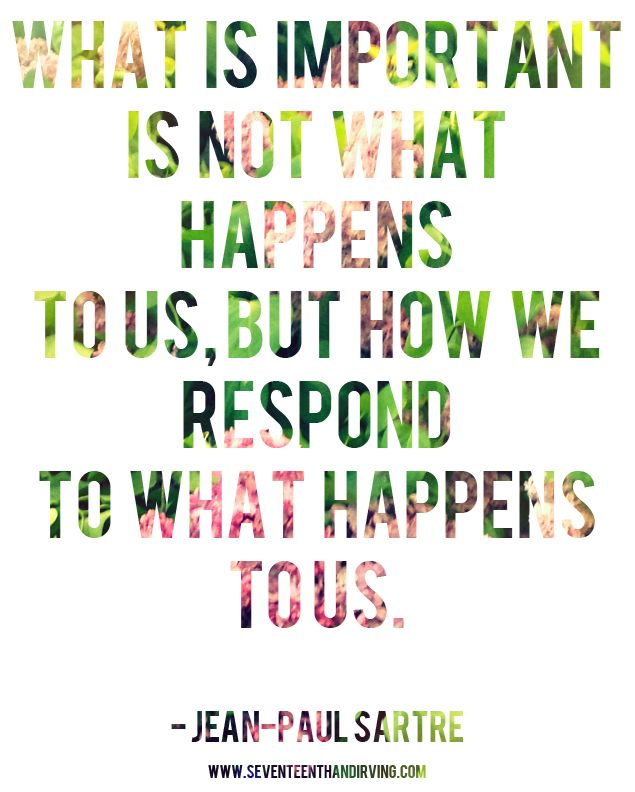 when we stop blaming our situation and instead focus on our actions, great things happen.