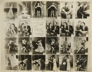 Scenes form the Rodgers and Hart musical On Your Toes, from the NYPL