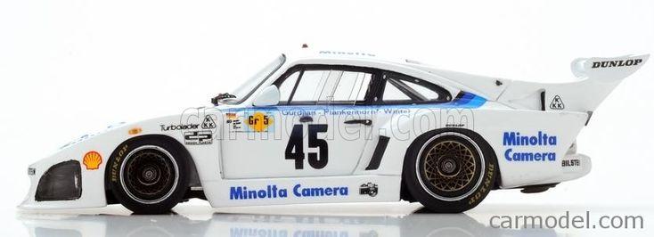 SPARK-MODEL S5092 Scale 1/43  PORSCHE 935 N 45 24h LE MANS 1979 A.PLANKENHORN - P.GURDJIAN - J.WINTER WHITE