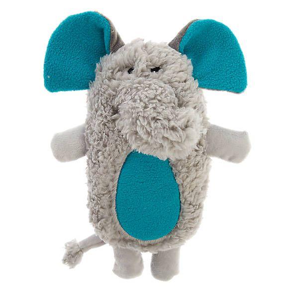 Grreat Choice Safari Elephant Dog Toy Plush Squeaker Dog