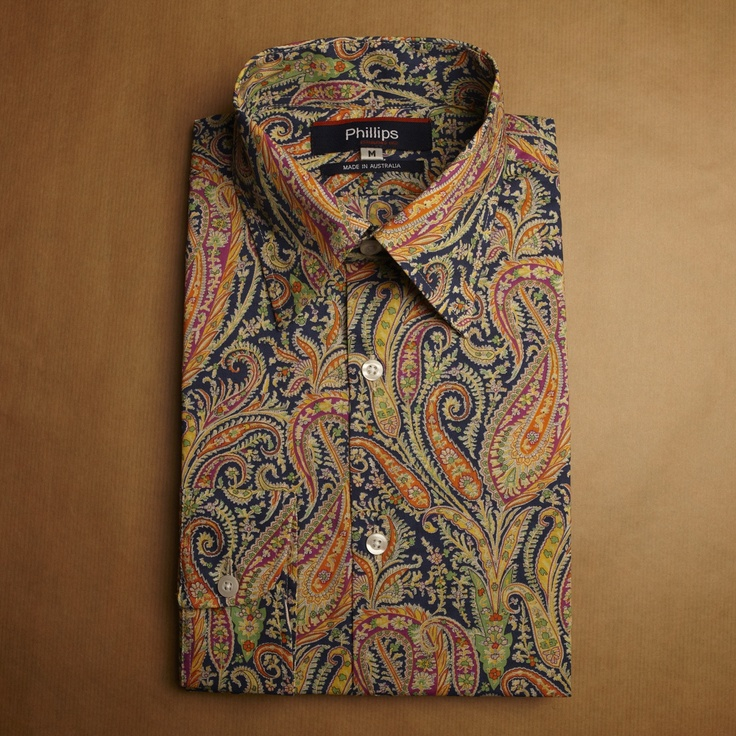 Philip's Liberty paisley shirt