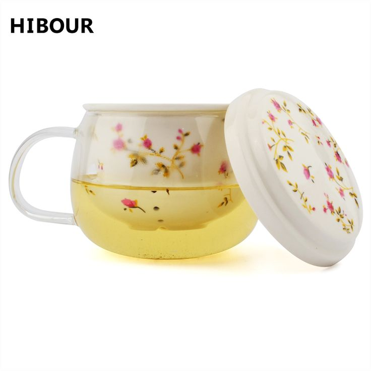 Check Price Flower TeaCups Teapot With Lid Tea Leaves Filter Strainer Lemon Tea Maker Coffee Infusers Mug Glass+Ceramic For Creative Gift #Flower #TeaCups #Teapot #With #Leaves #Filter #Strainer #Lemon #Maker #Coffee #Infusers #Glass+Ceramic #Creative #Gift