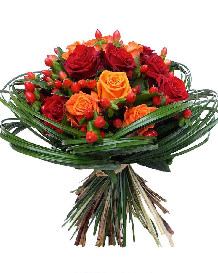 зимней букет цветов в подарок фото даже
