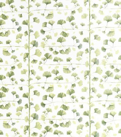 Ginkgo - Wallpaper - Sandberg Tyg & Tapet