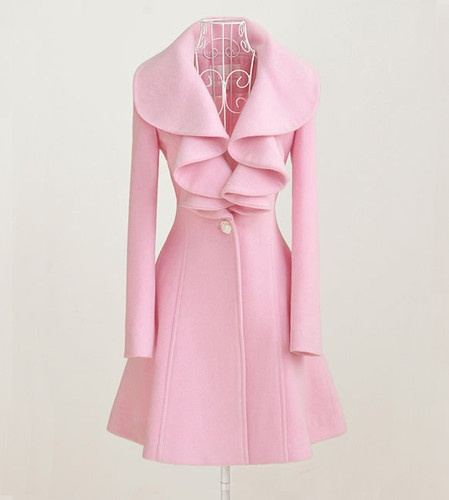 Pink Designer Coats | Down Coat