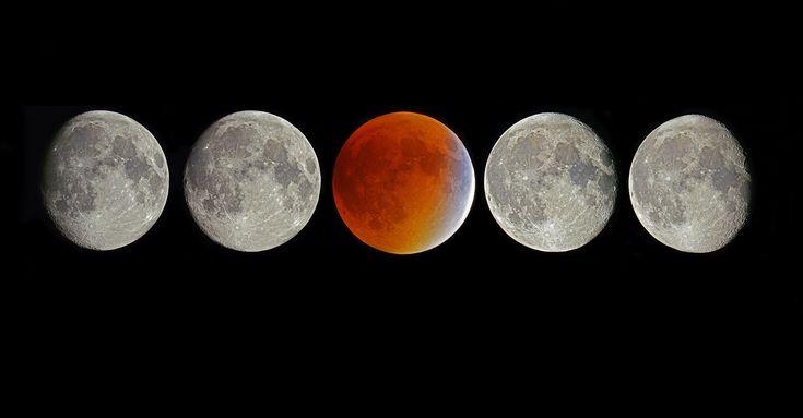 """Pourquoi il ne faut pas croire à la """"super Lune bleue rouge sang"""""""