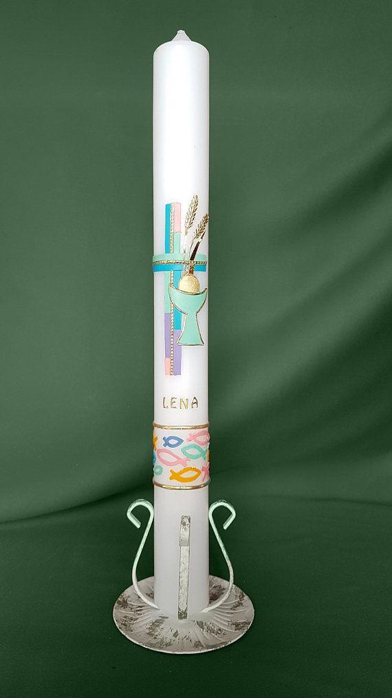 Kerzenhalter weiß für Kerzen Größe 400//40mm