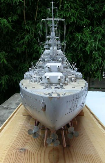 Ship Models - German Ships - Bismarck - Peter Beisheim