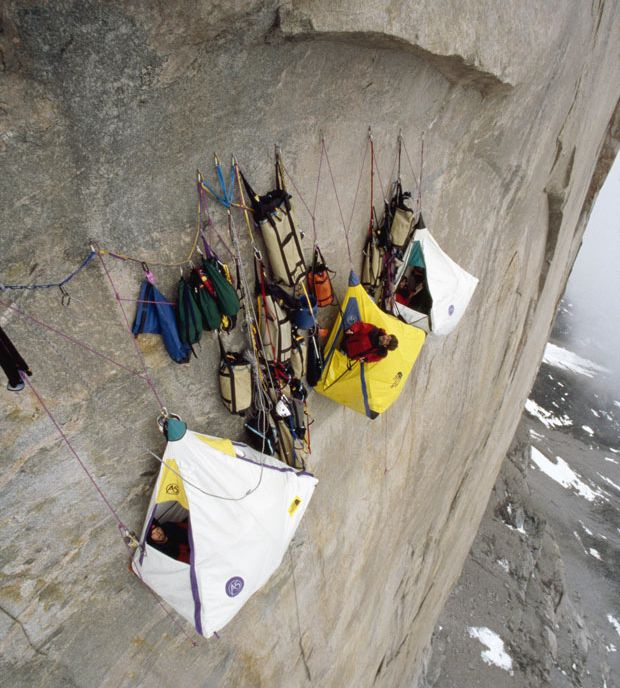 Big Wall Pictures Part - 35: Portaledge Shelters U2013 Not All Tents Are Pitched Into The Ground