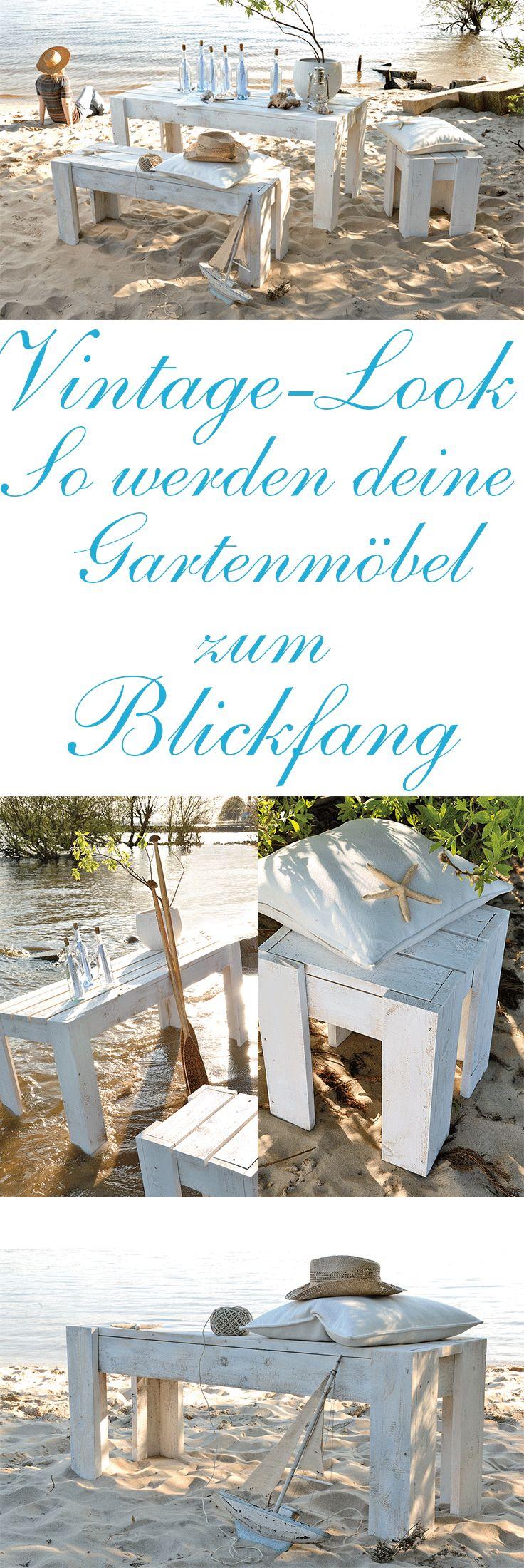 Mit Diesen Angesagten Gartenmöbeln Im Vintage Look Bist Du Der Star Jeder  Grillparty. Die