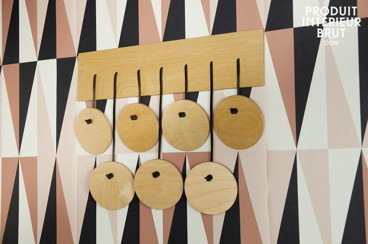 Portemanteau scandinave Billünd - Un accessoire original pour suspendre vos vêtements