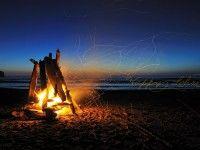 Lohri 2014 Night Bonfire Wallpaper