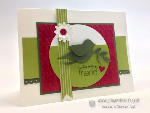 1000 images about stampin up bird punch on pinterest for Mary fish stampin up