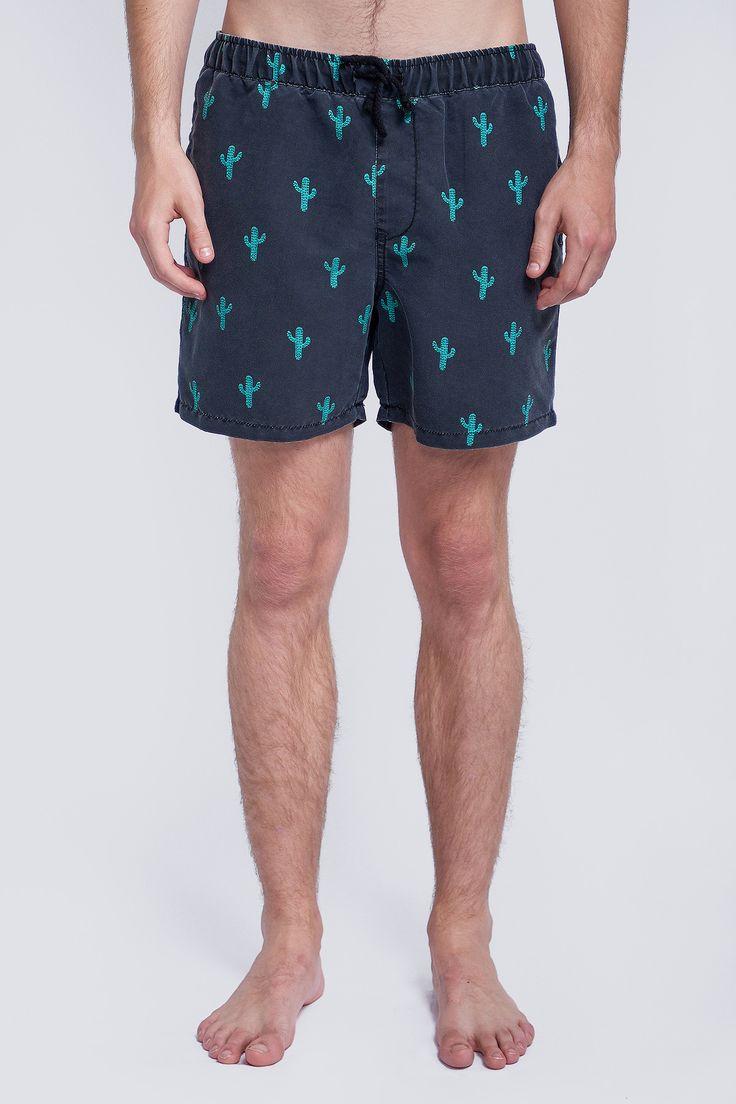 Buy Cactus Boardshort - Black