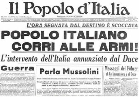 Italian campaign essays