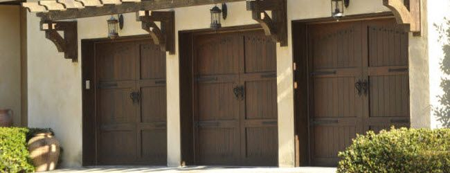 Wood Garage Doors - Signature Carriage Collection