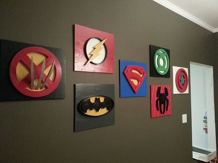 Best Super Hero Rooms Images On Pinterest Boys Superhero - Superhero wall decals application