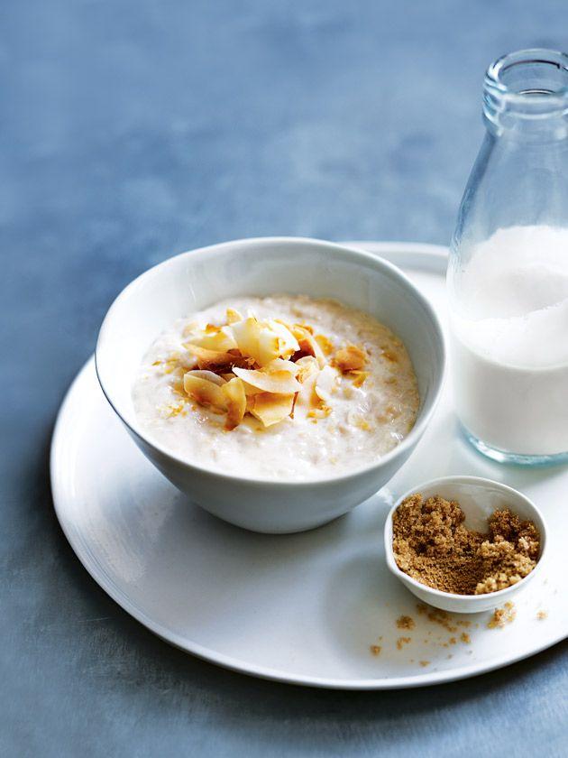 coconut and brown sugar porridge
