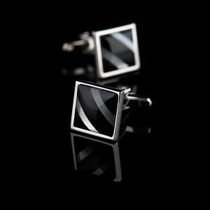 Elite color shell French shirt cufflinks