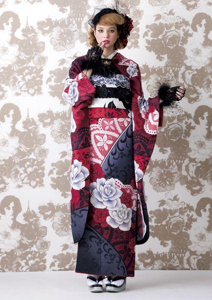 Goth Kimono