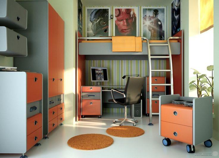 Kids room amazing boys bedroom remodeling design ideas for Bureau adolescent
