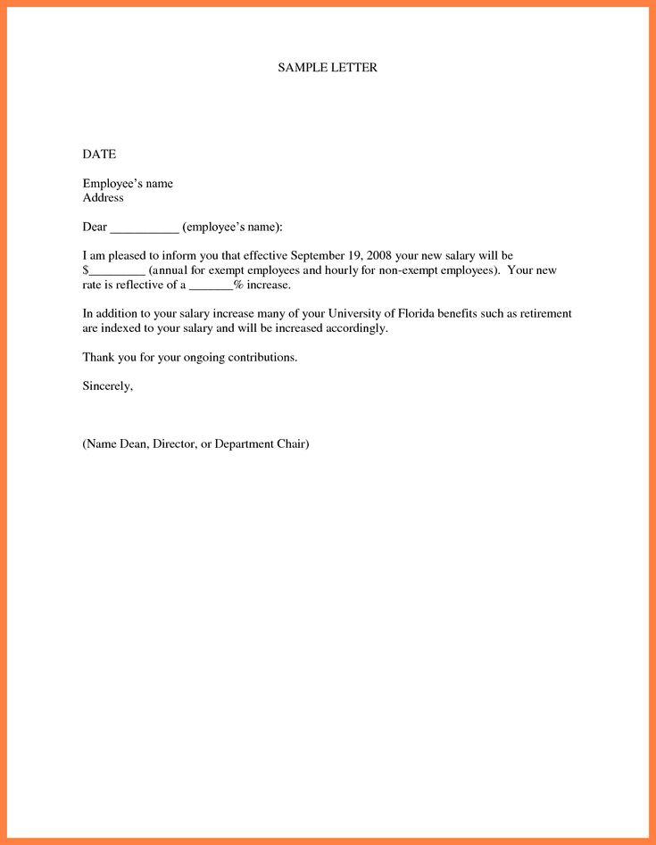 How To Write Salary Increment Letter Ghazanfar Khan Ghazanfarhajkhan On Pinterest
