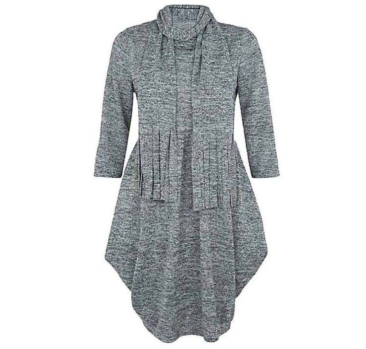 This dress is awesome! Am Sure you'll kinda liked it too.. ITALIAN SOFT KNITTED 3/4 SLEEVE MID  LENGTH SCARF DRESS http://bit.ly/1o0Zxhw