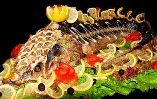 Рыбные блюда русской кухни